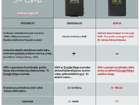 GPS seklys + paskyra sekimo serveryje