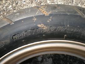 Priekinis ratas motociklui Honda