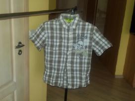 Dveji marškiniai trumpomis rankovėmis