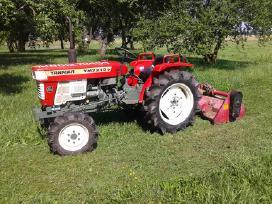 Žemės dirbimas, arimas, frezavimas minitraktoriumi