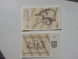 1 Talonas Unc 1991