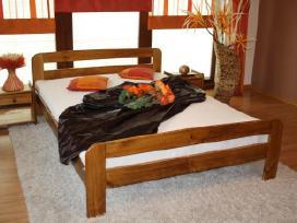 Akcija! Nauja medinė lova 160x200 tik 110eur