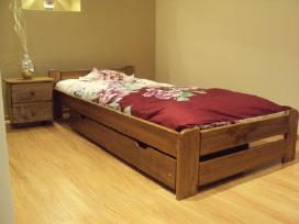 Akcija! Nauja medinė lova 140x200 tik 100eur