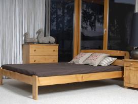 Akcija! Nauja medinė lova 120x200 tik 85eur