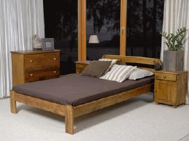 Akcija! Nauja medinė lova 180x200 tik 120eur - nuotraukos Nr. 3