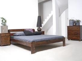 Akcija! Nauja medinė lova 180x200 tik 120eur