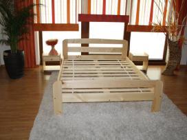 Akcija! Nauja medinė lova 180x200 tik 120eur - nuotraukos Nr. 5
