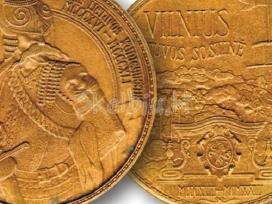 Ieškau lietuviškų stalo medalių, bareljefų