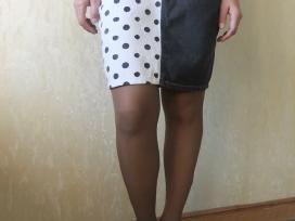 Originalus džinsinis sijonas
