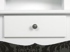Baltas Kosmetinis Staliukas su Taburete - vidaxl