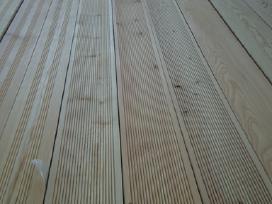 Maumedžio terasines lentos