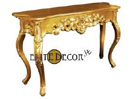 Klasikinės ir modernios konsolės, staliukai