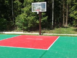 Rimtas krepšinio stovas prie namų - nuotraukos Nr. 2