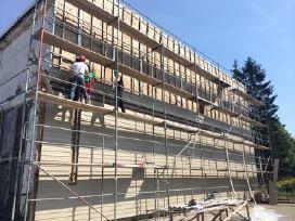 Ieškome darbuotojų fasado šiltinimo darbams