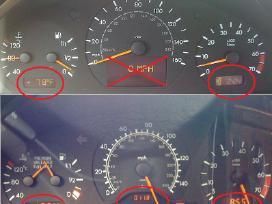 Mercedes skydelio LCD pikseliu pixeliu remontas