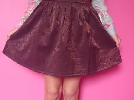 Naujas F&f bronzinis skater sijonas