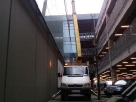 Autokeltuvo nuoma 22m - lataku valymas