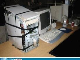 Perku sugedusius kompiuterius