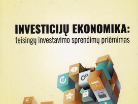 Investicijų ekonomika, mokomoji knyga