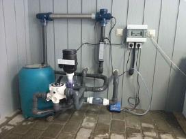 Tvenkinių filtravimo įranga, Pvc dangos klojimas