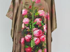 Šilkinės tunikos- suknelės