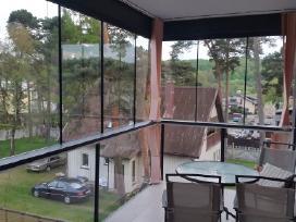 Langų ir stiklinių fasadų valymas su Ionic sistema - nuotraukos Nr. 8
