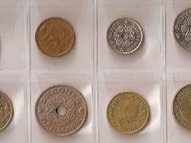 Danijos monetų rinkinukas