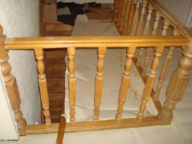 Parketo slifavimas-mediniu laiptu restauravimas - nuotraukos Nr. 5