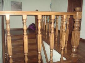 Parketo slifavimas-mediniu laiptu restauravimas - nuotraukos Nr. 6