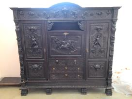Senovinė antikvarinė komoda apie 1840-1870