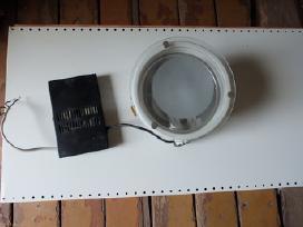 Metalo halogenai šviestuvai prožektoriai lempos