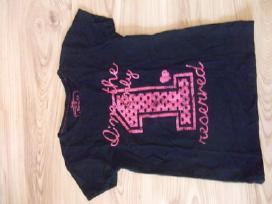 Marškinėliai trumpomis rankovėmis mergaitei
