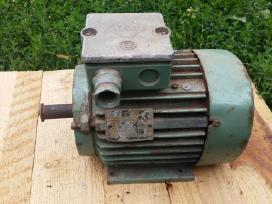 Vokiškas el.variklis 0,5kw 1380aps