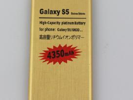 Galaxy S5 (g900, g900f) padidintos talpos baterija