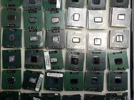 Keletas procesorių nešiojamiems kompiuteriams