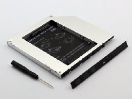 Adapteris HDD / SSD diskui vietoje Dvd įrenginio