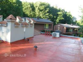 Plokščių stogų apšiltinimas poliure