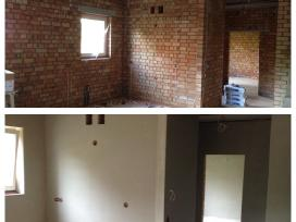 Sienų tinkavimas.lubų tinkavimas.tinkavimo darbai