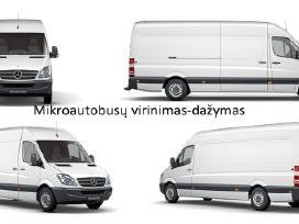 Mikroautobusų dažymas.virinimas.lyginimas.