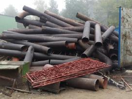 Metalo laužo supirkimas issivezimas , demontavimas
