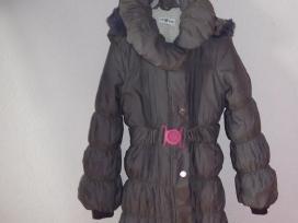 Žieminis paltukas mergaitei su avies kailiu - nuotraukos Nr. 3