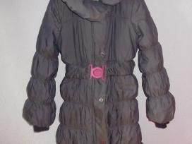 Žieminis paltukas mergaitei su avies kailiu - nuotraukos Nr. 4