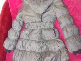 Žieminis paltukas mergaitei su avies kailiu - nuotraukos Nr. 2