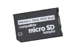 Micro Sd > Memory Stick Pro Duo adapteris