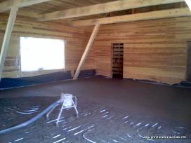 Gyvenamojo namo betonavimas