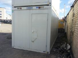Statybinio vagonelio konteinerio nuoma