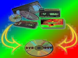 Video garso kasečių perrašymas įrašų juostų Dvcam - nuotraukos Nr. 2
