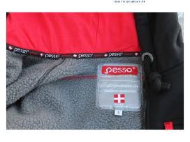 Šiltas džemperis su gobtuvu Pesso Portland - nuotraukos Nr. 3