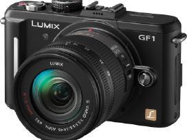 Panasonic Dc-gh5, Fuji X-e2s fotoaparatas naujas