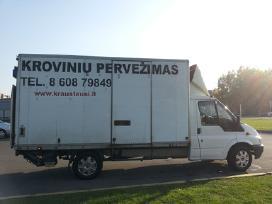 Krovinių pervežimas, perkraustymo paslaugos Kaune